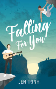 Cover Art for Falling for You by Jen Trinh