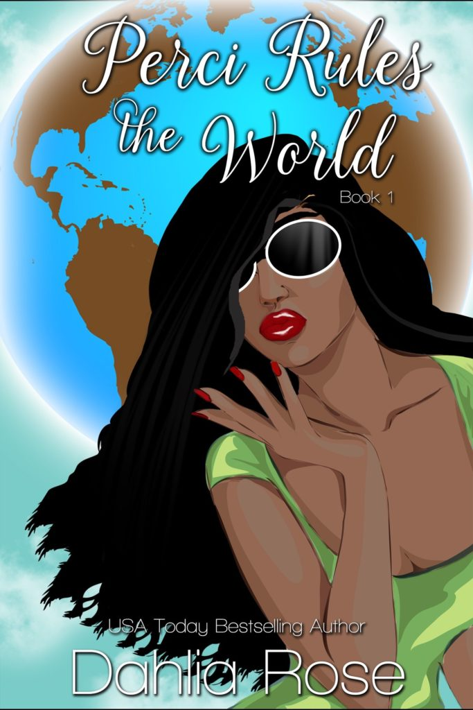 Cover Art for Perci Rules The World by Dahlia  Rose