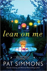 Cover Art for Lean on Me by Pat Simmons