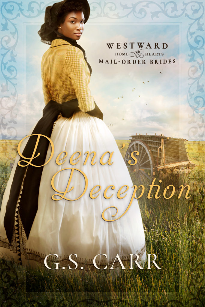 Cover Art for Deena's Deception by G.S.  Carr