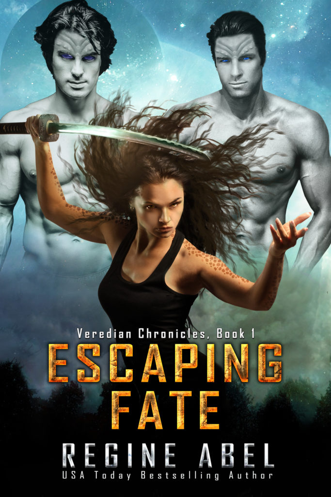 Cover Art for Escaping Fate by Regine Abel
