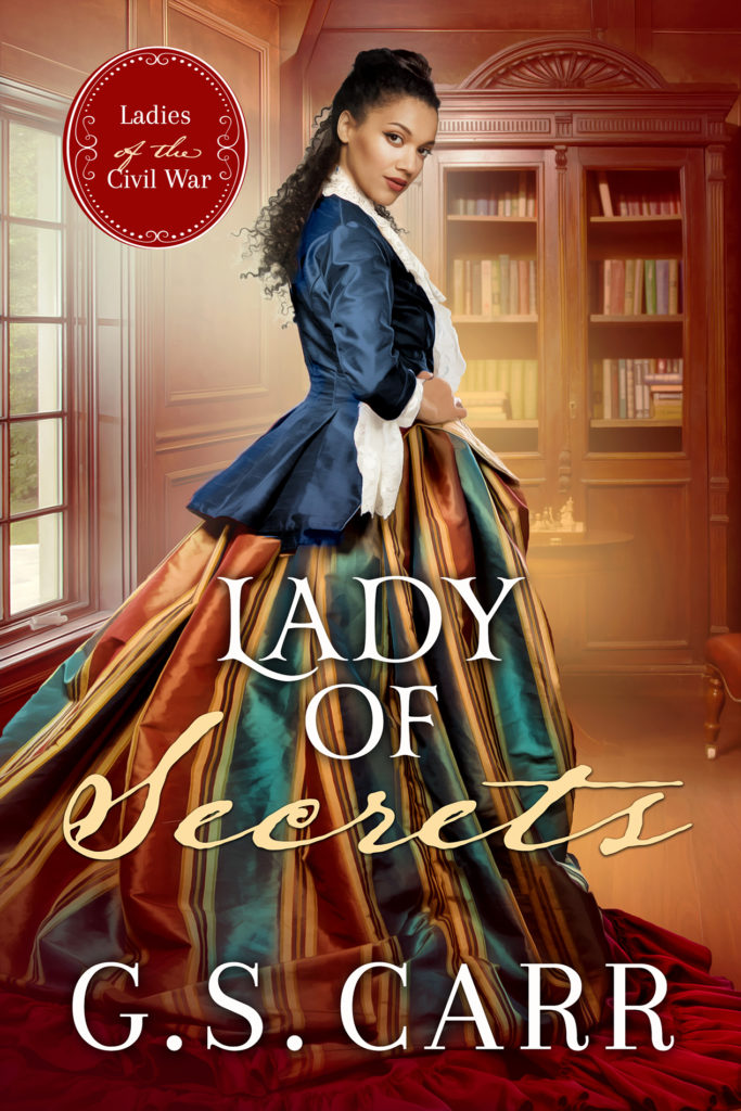 Cover Art for Lady of Secrets by G.S. Carr