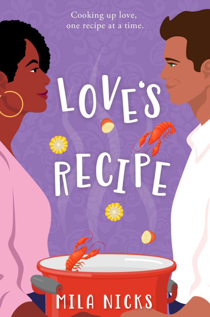 Cover Art for Love's Recipe by Mila Nicks