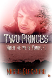 Cover Art for Two Princes (When We Were Young, Book 1) by Maggie Blackbird