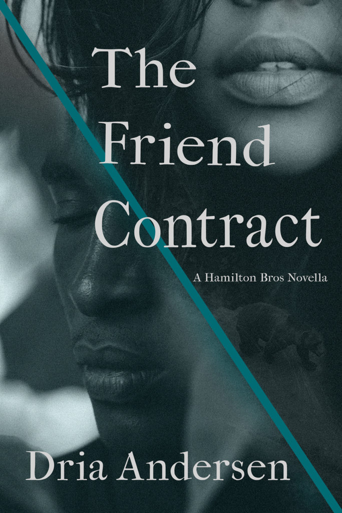 Cover Art for The Friend Contract by Dria Andersen