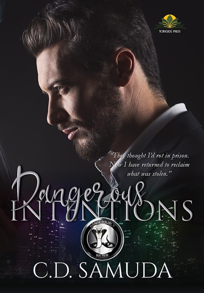 Cover Art for Dangerous Intentions by C.D. Samuda