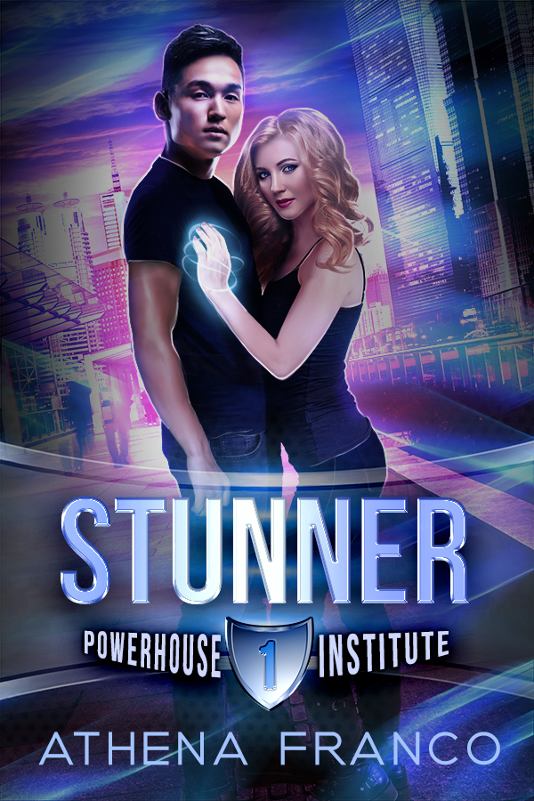 Cover Art for STUNNER by Athena Franco