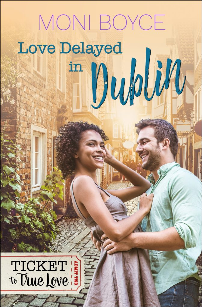 Cover Art for Love Delayed In Dublin by Moni Boyce
