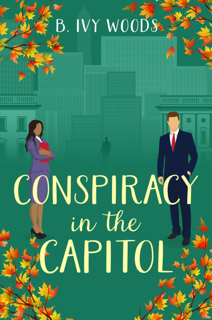 Cover Art for Conspiracy in the Capitol by B. Ivy Woods