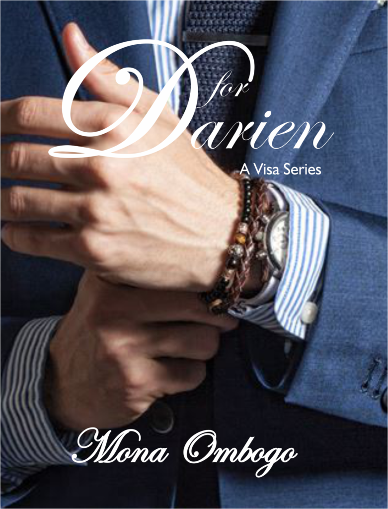 Cover Art for D for Darien by Mona Ombogo