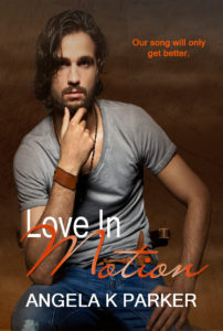 Cover Art for Love In Motion by Angela K Parker