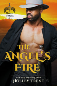 Cover Art for The Angel's Fire by Holley Trent