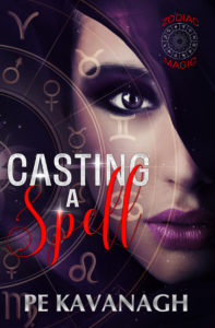 Cover Art for Casting A Spell by PE Kavanagh