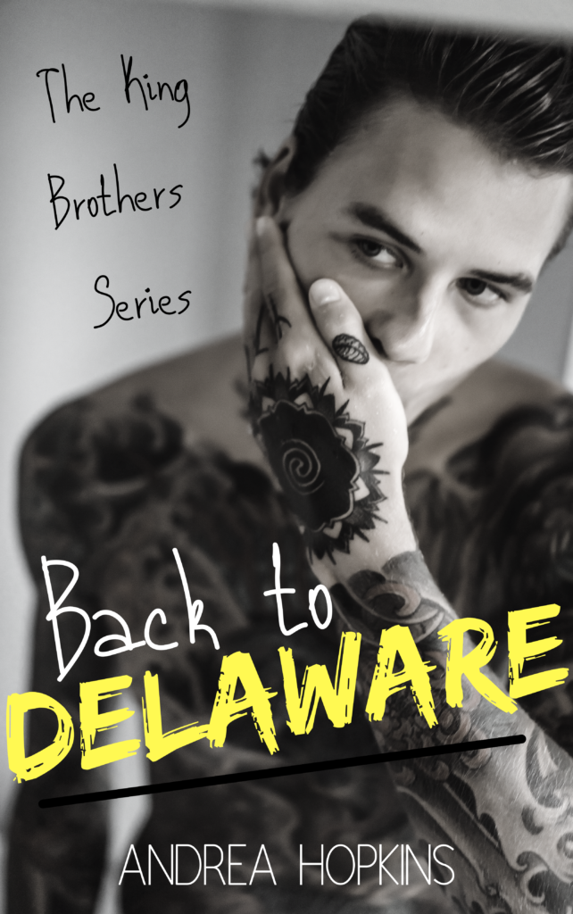 Cover Art for Back to Delaware by Andrea Hopkins
