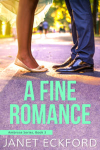 Cover Art for A Fine Romance by Janet Eckford