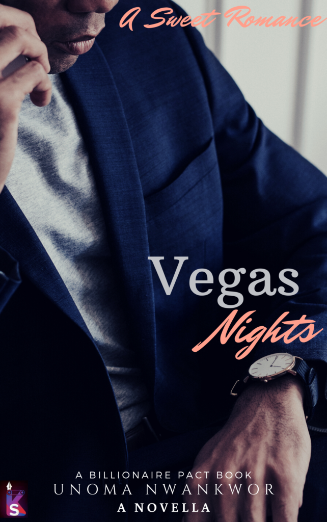 Cover Art for Vegas Nights by UNOMA NWANKWOR