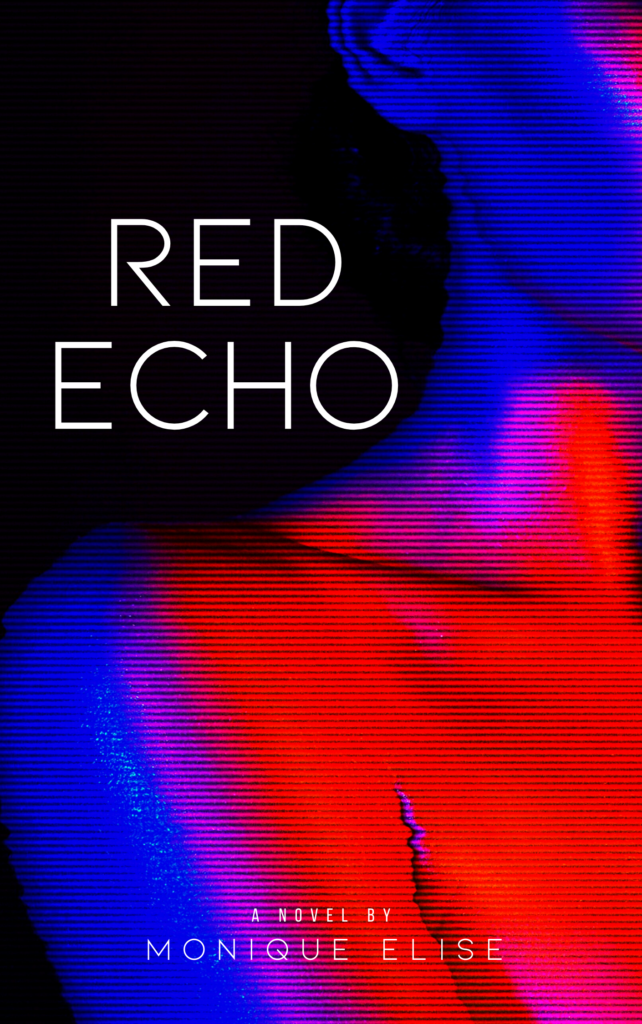 Cover Art for Red Echo by Monique Elise