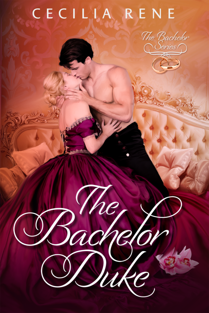 Cover Art for The Bachelor Duke by Cecilia Rene