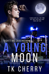 Cover Art for A Young Moon by TK Cherry