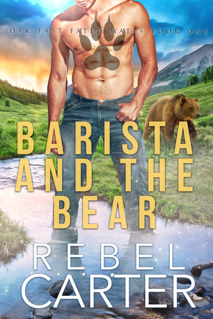 Cover Art for Barista and the Bear by Rebel Carter