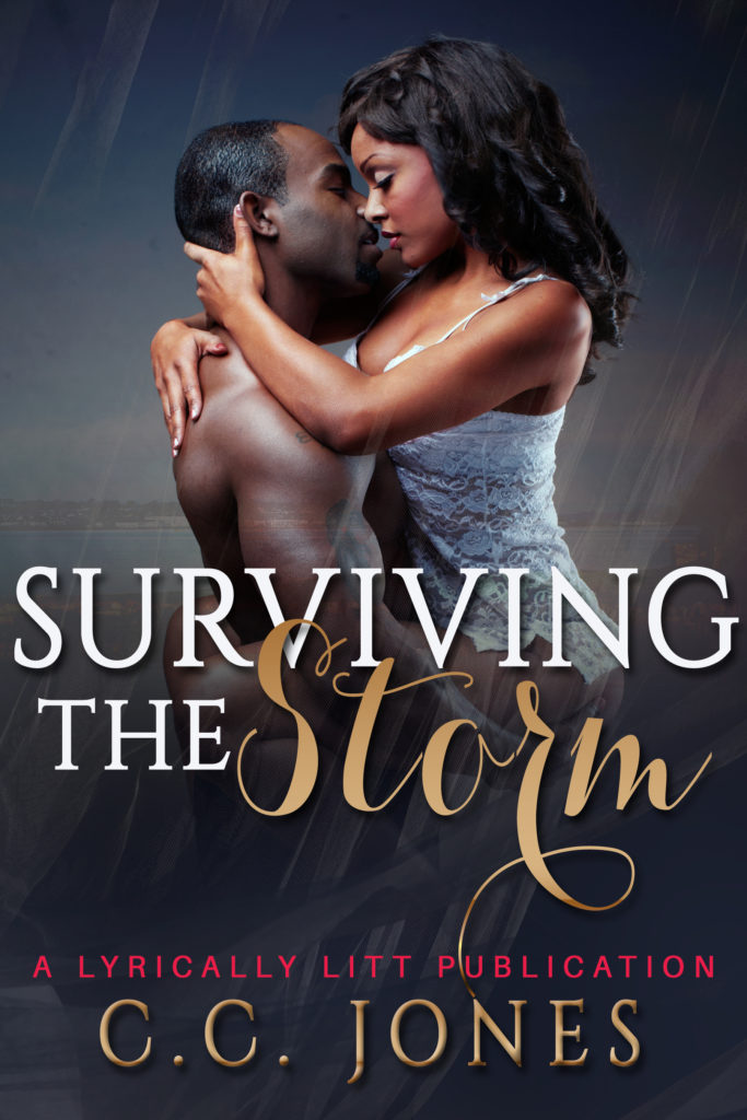 Cover Art for Surviving the Storm by C.C Jones