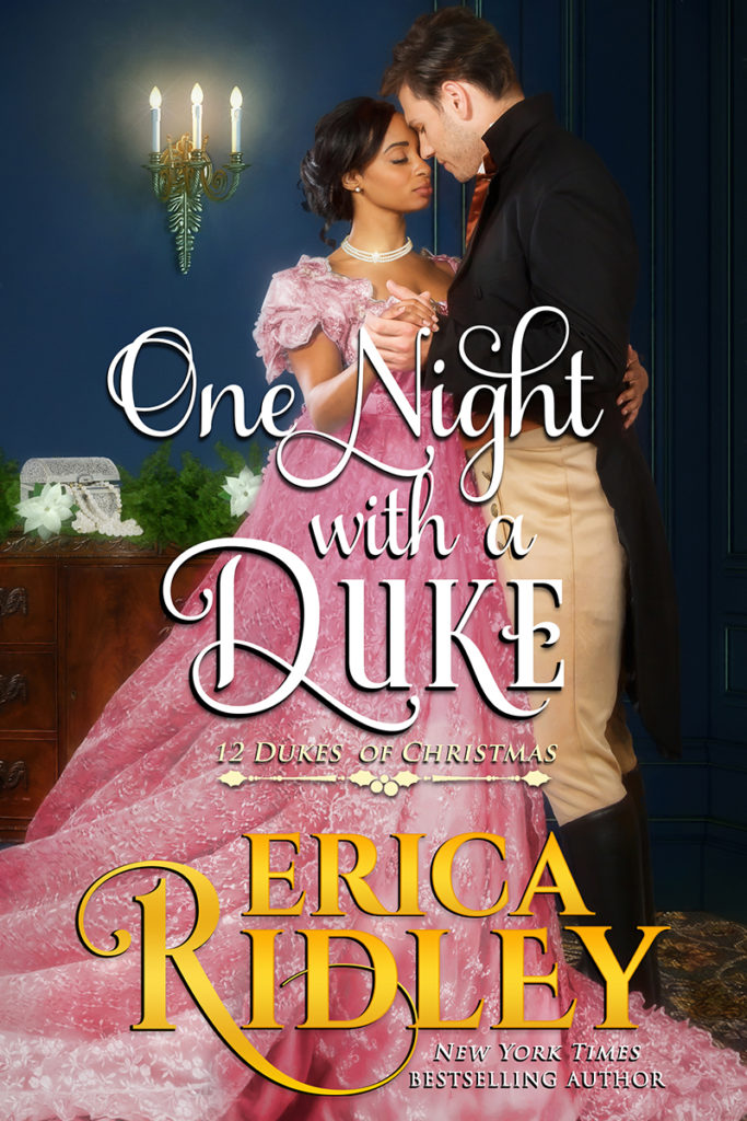 Cover Art for One Night with a Duke by Erica Ridley