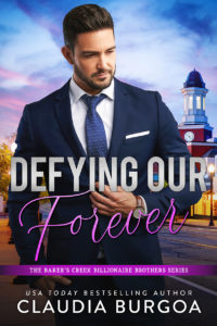 Cover Art for Defying Our Forever by Claudia Burgoa