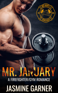 Cover Art for Mr. January by Jasmine Garner