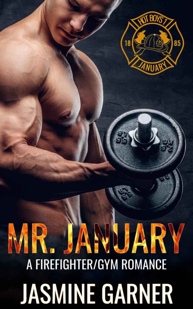 Cover Art for Mr. January by Jasmine Garner