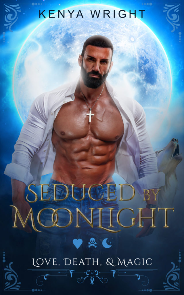 Cover Art for Seduced by Moonlight by Kenya  Wright