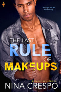Cover Art for The Last Rule of Makeups by Nina Crespo