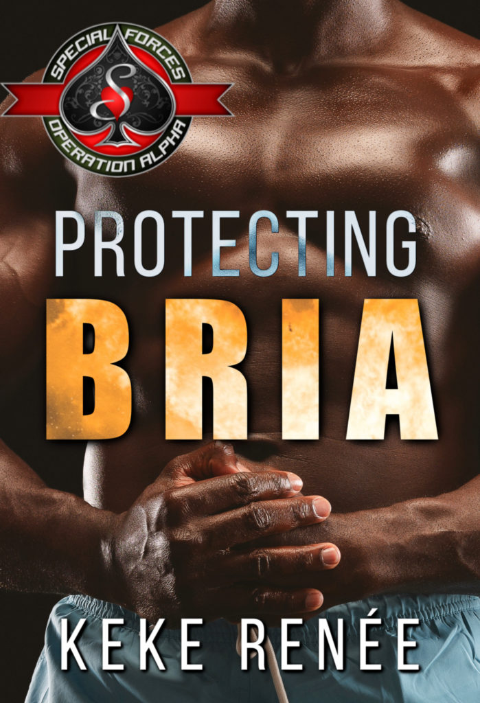 Cover Art for Protecting Bria by KeKe  Renée