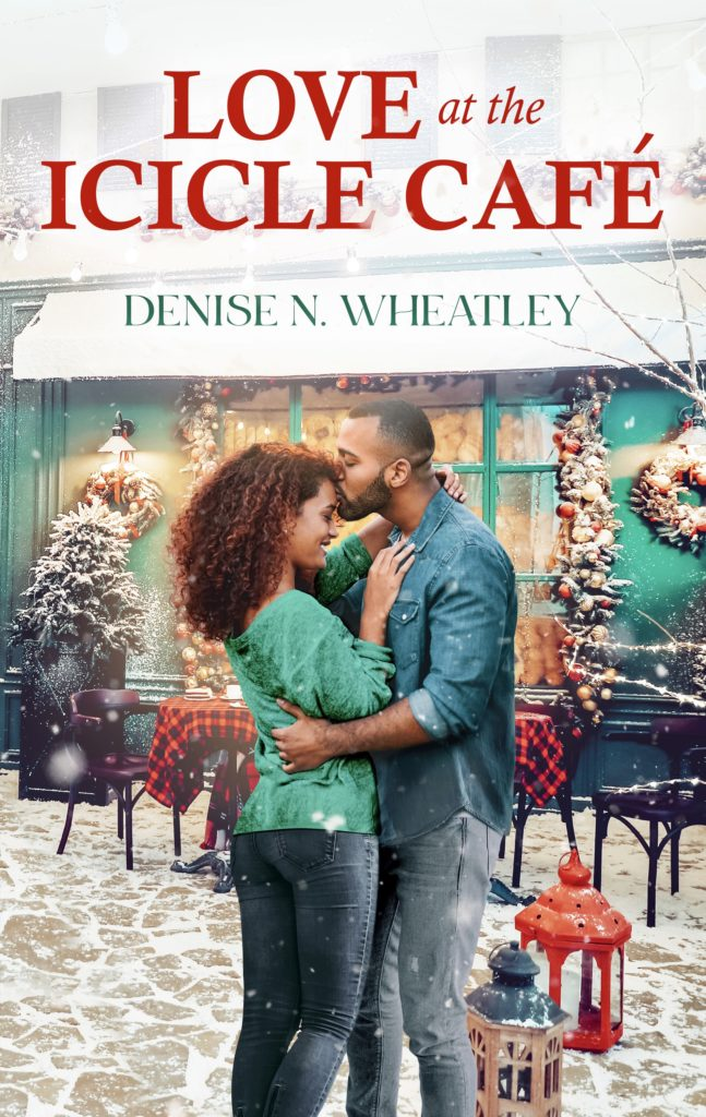 Cover Art for Love at the Icicle Café by Denise N. Wheatley