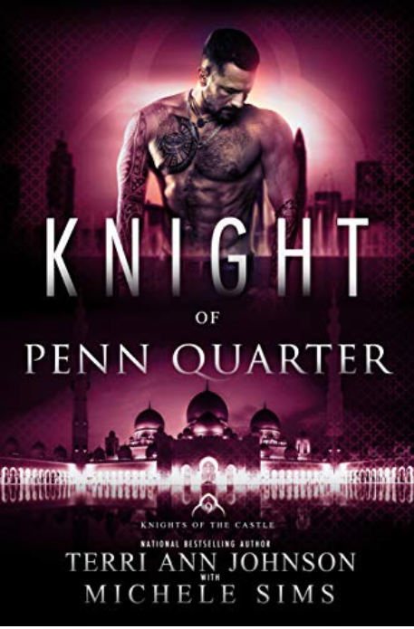 Cover Art for Knight of Penn Quarter by Michele Sims