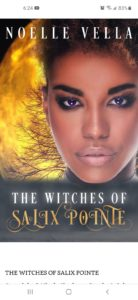 Cover Art for The Witches of Salix Pointe by Noelle  Vella