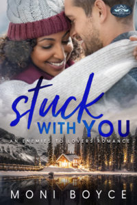 Cover Art for Stuck With You by Moni Boyce