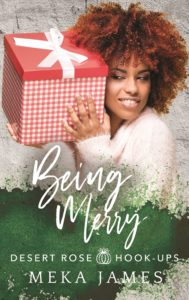 Cover Art for Being Merry by Meka James