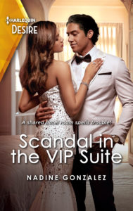 Cover Art for Scandal in the VIP Suite by Nadine  Gonzalez