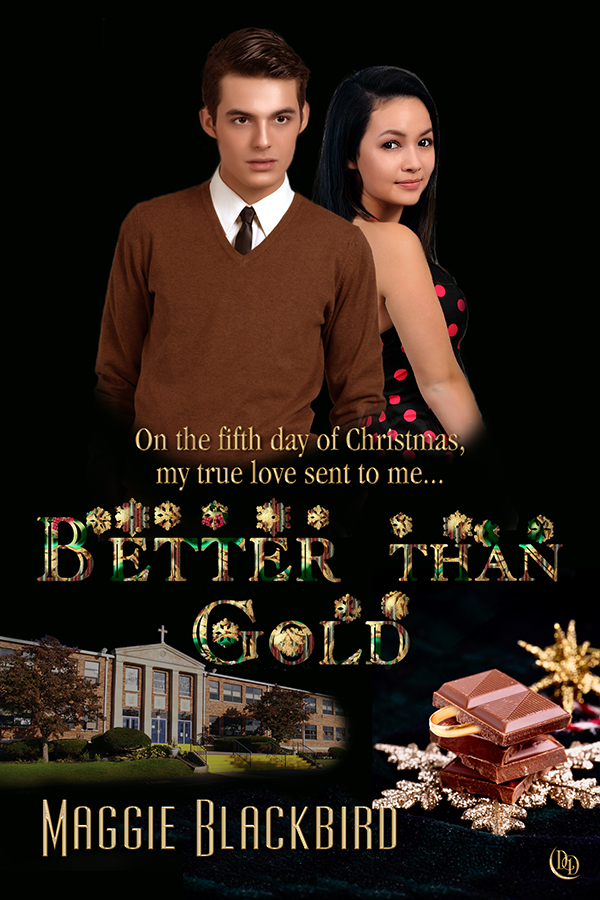 Cover Art for Better Than Gold by Maggie Blackbird