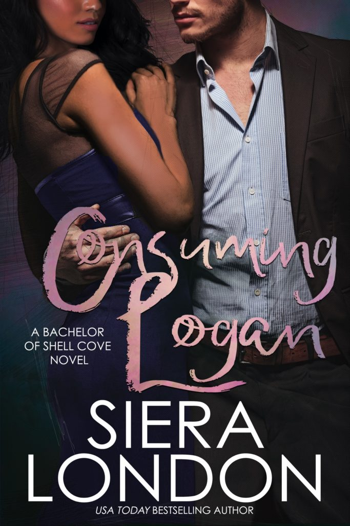 Cover Art for Consuming Logan: A Bachelor of Shell Cove by Siera London