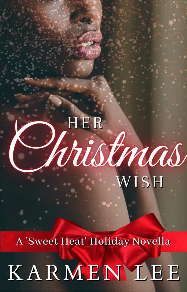 Cover Art for Her Christmas Wish: A Sweet Heat Holiday Novella by Karmen Lee