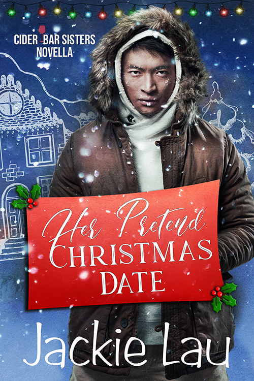 Cover Art for Her Pretend Christmas Date by Jackie Lau
