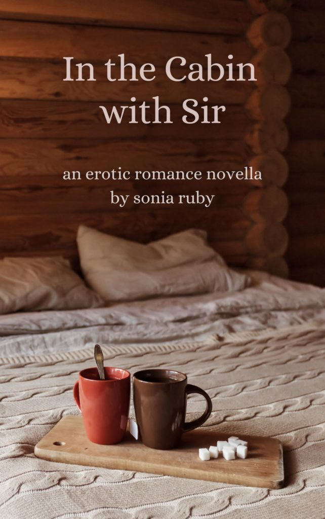 Cover Art for In the Cabin with Sir by Sonia Ruby