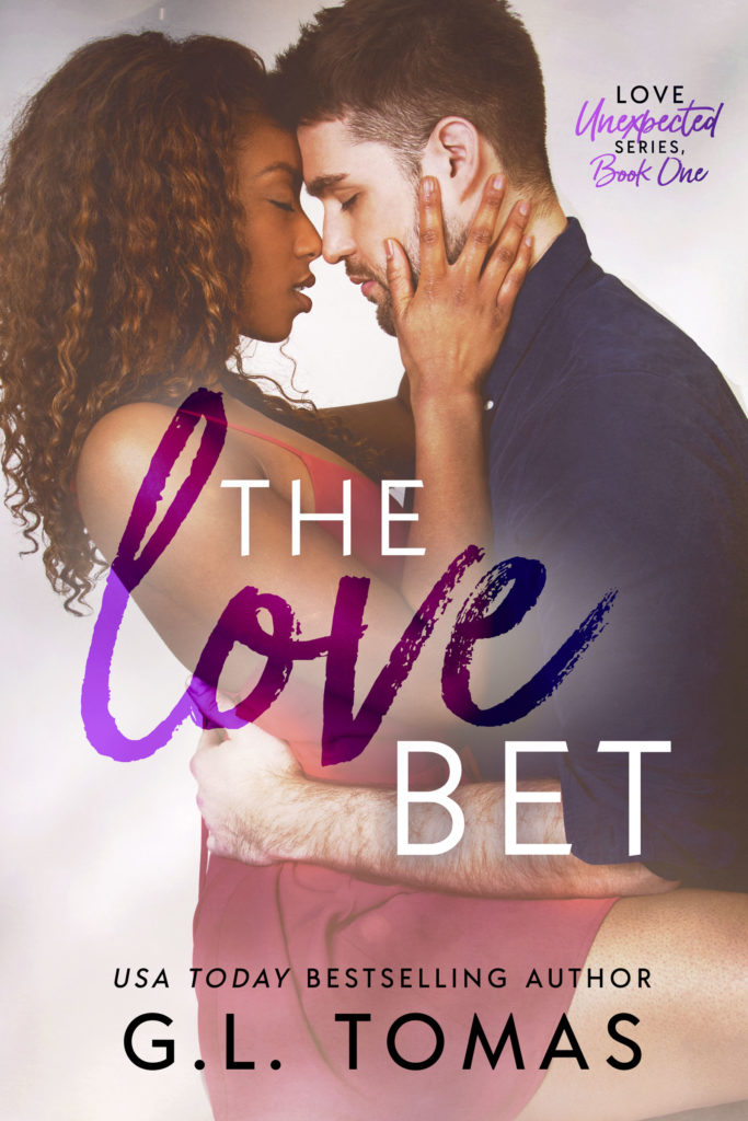 Cover Art for The Love Bet by G.L.  Tomas