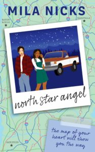 Cover Art for North Star Angel by Mila Nicks
