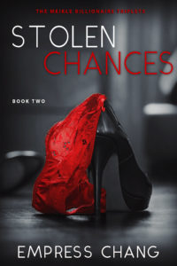 Cover Art for Stolen Chances by Empress Chang