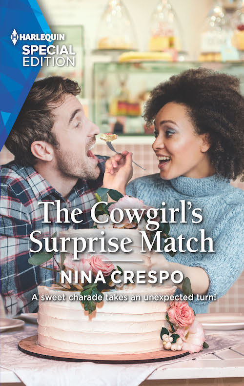 Cover Art for The Cowgirl's Surprise Match by Nina Crespo