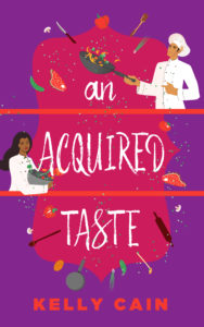 Cover Art for An Acquired Taste by Kelly Cain