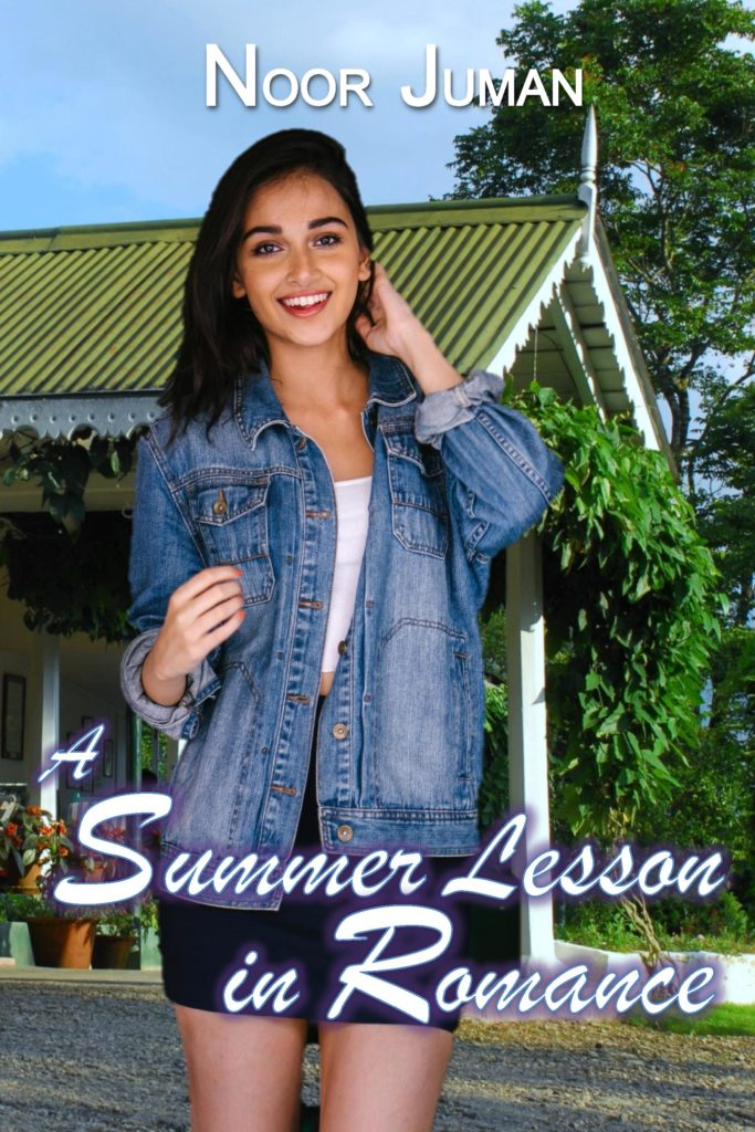 Cover Art for A Summer Lesson in Romance by Noor Juman