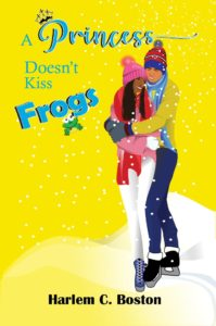 Cover Art for A Princess Doesn't Kiss Frogs by Harlem C. Boston